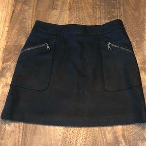 Club Monaco Wool Mini Skirt